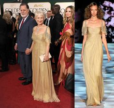2011 Golden Globes Badgley Mischka