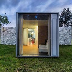Chameleon House Prague by Petr Hajek #interiors #interiordesign #architecture #decoration #interior #home #design #photogrid #architect #homedecor #decoration #decor #prefab #smallhomes #instagood #compactliving #fineinteriors #cabin #tagsforlikes #tinyhomes #tinyhouse #like4like #FABprefab #happy #likeforlike #houseboat #chalet #container #containerhouse by prefabhouses