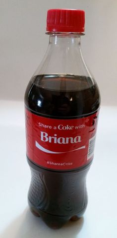 Share a Coke with BRIANNA-2015 LIMITED EDITION 20 oz. Coca-Cola-Hard to Find…