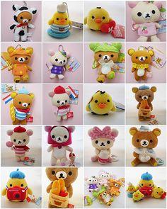 San-x Rilakkuma Plush Toy | by icecream_drops