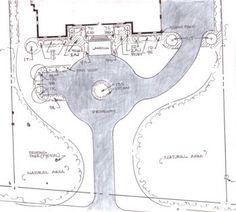 courtyard driveway house plans circle | Circle Driveway Study ...