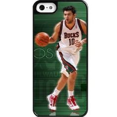 Amazon.com: Custom Personalized Apple iPhone 5/5s Hard Shell Cases/Covers/Skins NBA CARLOS DELFINO Basketball Sports Star: Cell Phones & Acc...