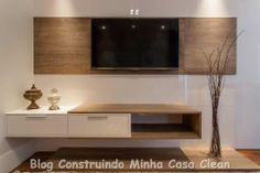 Home Theater! 20 Projetos de Salas de TV Modernas!!!