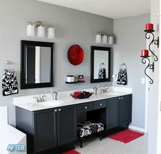 Ideas for organizing the bathroom                                                                                                                                                     More