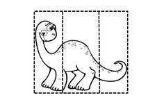 """Éstas son algunas de las fichas de los dinosaurios  con las que estamos trabajando y que incluiremos en nuestro """"dossier del proyecto """".   ... Dinosaur Theme Preschool, Dinosaur Projects, Preschool Worksheets, My Children, Coloring Books, Activities For Kids, Arts And Crafts, Fun, Jurassic Park"""