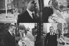 Una boda de invierno en Brooklyn - First look