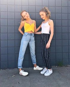 Nadia Turner and Lauren Orlando Cute Girl Outfits, Teen Fashion Outfits, Tween Fashion, Outfits For Teens, Girl Fashion, Summer Outfits, Casual Teen Outfits, Casual Teen Fashion, Vogue Fashion