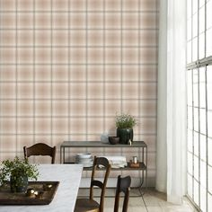 The wallpaper Kristoffer beige - from Sandberg is wallpaper with the dimensions m x m. The wallpaper Kristoffer beige - belongs to the p Wallpaper, Modern, Modern Accents, New Wallpaper, Basic Shower Curtain, Inspiration, Petrol Blue, Popular Wallpaper, Checker Wallpaper