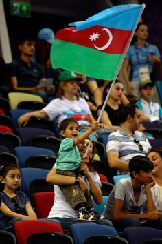 It is so proudable to see your waving flag #Azerbaijan