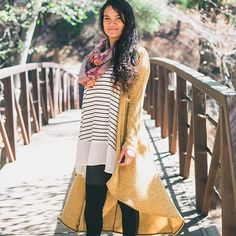 Loving this look! Our Glendora cardigan is a perfect added layer during these cooler months. We wanna see how YOU Honey & Lace! Be sure to tag your pics #ohhoneyyoulookgood and #honeyandlace for a chance to be featured! #ootd #layers #layeredlook #falllayers #cardi #cardigan #glendora #howtostyle #fallstyle #fallfashion #instastyle #madeintheusa #usamade #comfortapparel #cuteandcomfy #somethingforeveryBODY #shoptilyoudrop
