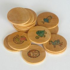 Wooden Memory Game Alice in Wonderland 16 by BeneathTheRowanTree Montessori Activities, Educational Activities, Toddler Activities, Toddler Busy Bags, Toddler School, Preschool Projects, Preschool Age, Memory Games
