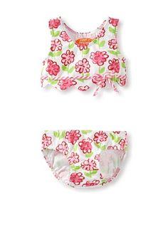 65% OFF Sweet Potatoes Baby Scallopkini (Pink) #apparel #Kids