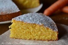 Torta di carote bimby,una torta adatta per colazione o merenda facile,soffice e veloce!