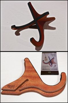 Standout Wooden Ukulele Stand