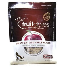 Fruitables Crispy Bacon and Apple Flavor Treats -- Wonderful of your presence to drop by to view our picture. (This is our affiliate link) Small Dog House, Tiny Dog, Miniature Dog Breeds, Big Dog Toys, Dog House Air Conditioner, Dog Snacks, Dog Treats, Dog Breed Names, Unusual Dog Breeds