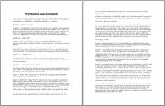 Residential Lease Agreement Template | official templates ...
