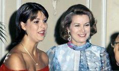 Grace de Monaco et sa fille aînée Caroline
