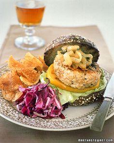 Turkey Burger - Martha Stewart Recipes