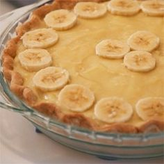 """Banana Cream Pie I   """"Woah baby! This is one you won't soon forget. My family was IMPRESSED."""""""