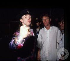 "steebhackett: ""Stevie Ray Vaughan and Steve Winwood, 80′s """