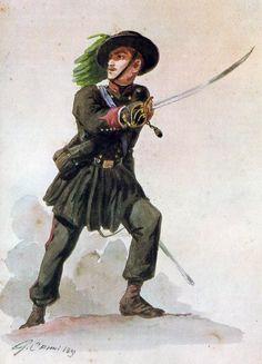 Regio Esercito - Sottotenente dei Bersaglieri