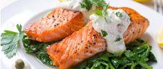 Zartes Lachsfilet mit Brokkoli, Reis und Dillsauce aus dem Thermomix®