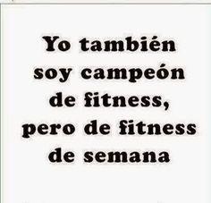 Campeón de Fitness.