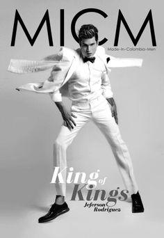 1° Edicion Portada de Lanzamiento Revista Made in Colombia Men.