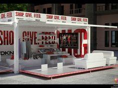 Container pop-up store. Verplaatsbare units. Bereik zo veel mogelijk publiek met een en dezelfde unit in verschillende steden.