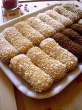 PIŠKÓTY NUTELLA - MASCARPONE Burritos, Sweet Light, Cupcakes, Italian Cookies, Cooking With Kids, Something Sweet, Nutella, Finger Foods, Cookie Recipes