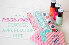 20 Minute Tuesday | Nail File and Polish Gift - Shes {kinda} Crafty