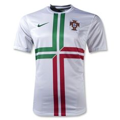 Portugal 12/13 Away Soccer Jersey