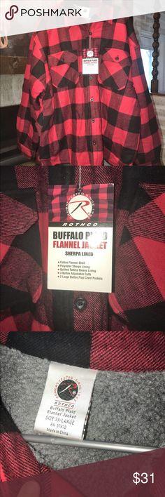 Rothco Buffalo Plaid Flannel Jacket 3X New New 3X Rothco Jackets & Coats