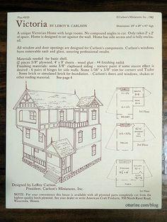 Dollhouse Plans Design 7 Architect S Choice 1 12 Scale