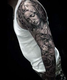holy mary mother of god tattoos - Google Search