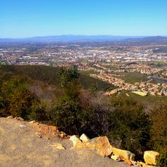 Double Peak Park. Started Thanksgiving Day with a great hike/run up here today. Always a beautiful view no matter which way you look! :)