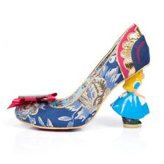 1056e85ef73 Irregular Choice for Women Alice In Wonderland Curious Feeling Heels