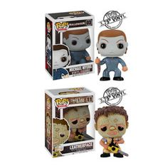 M. Myers and Leatherface 2-Pack now featured on Fab.