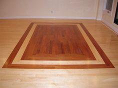hardwood floor designs brazilian Cherry Oak - Google Search