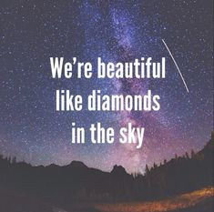 diamonds // rihanna