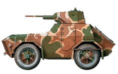 """""""Autoblinda AS Gruppo Corazzato 'Leonessa', Secteur de la Lombardie, RSI, avril Army Vehicles, Armored Vehicles, Armored Car, Military Paint, Truck Transport, Military Drawings, Tank Armor, Italian Army, Engin"""