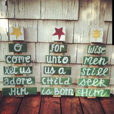 Wise Men Pallet Christmas Tree by HOPEandSTAY on Etsy