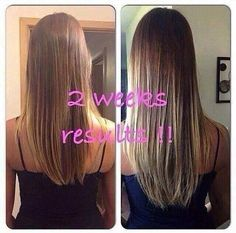Oh my goodness!!  Do you see how much her hair has grown in ☝️ month? Eekkkk‼️ I'm so happy for you girl!!  Check out her results below