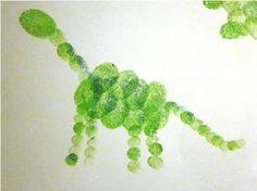 Dinosaur Fingerprint Creations