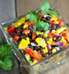 This recipe for Santa Fe Salad is perfect for a side dish or lunch meal. Crisp colourful veggies and beans are tossed together with some serious flavour from Jalapeño peppers, lime, cilantro and cumin!  What a great summer it has been! The highlight of our summer was travelling to Quebec to watch our son compete …