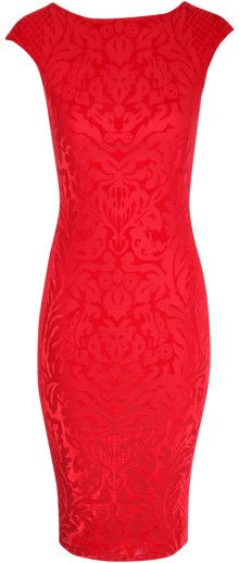 Jane Norman Devore Bodycon Midi Dress www.finditforweddings.com ... ON SALE $41