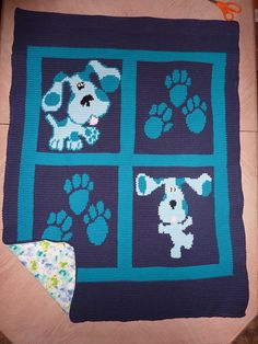 Ravelry: Blues Clues Chart free pattern by Sarah Bradberry