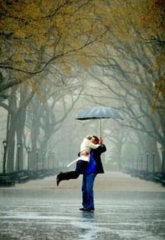 A walk in the rain wid ur lover... One of the most romantic moments ever...
