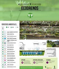 Beneficios de los sistemas urbanos de drenaje sostenible