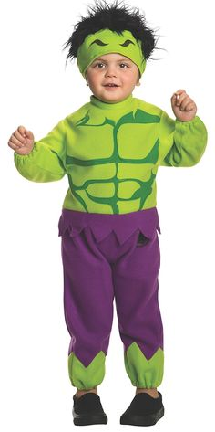 Rubie's Costume Baby's Marvel Classics Avengers Assemble Fleece Hulk Costume -- Check out this great product.